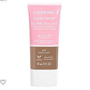 COVERGIRL, Clean Fresh Skin Milk Foundation, Deep